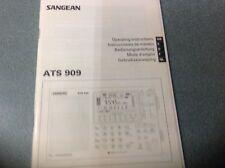 Sangean ATS-909 instruction manual