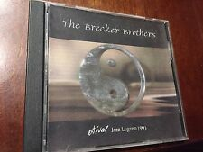 THE BECKER BROTHERS LIVE AT ESTIVAL JAZZ LUGANO 1993 CD RARE LIVE RELEASE