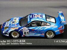 PORSCHE 911 996 GT3 RSR #81 24 LE MANS 2004 DONALDSON FISKEN NIELSEN MINICHAMPS