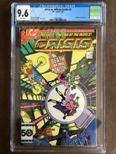 Crisis On Infinite Earth's #4, July 1985, DC Comics, CGC Grade 9.6 NM+