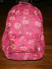 NWT Hollister by Abercrombie Classic Women's Backpack Floral book bag tote