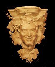 Bacchus dieu du vin lampe luminaire ou console 3072 plâtre teinté