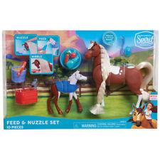 Dreamworks Spirit Feed & Nuzzle 10 Piece Playset - JPL39310