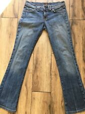 Woman's 7 For All Mankind jeans SZ 25  Rocker Style Light Blue Great Condition!