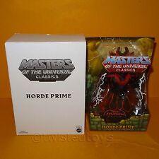 2012 MATTEL Amos del universo He-man Amos Del Universo clásicos Horde Prime Moc cardado