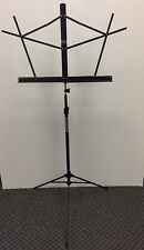 Stageline Folding Tubular Travel Professional Music Stand - Black