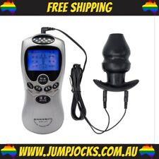 Electro Shock Butt Plug With E-Stim Control Pack - Sex Toy, Gay *FREE SHIPPING*