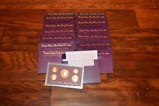 Lot 15 1989 1990 1993 1986 S  Proof Set U.S. Mint  Proof Sets Box COA