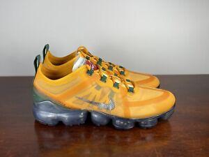 "Men's Nike Air Vapormax 2019 ""Canyon Gold"" AR6631-700 Running Shoes Size 8"