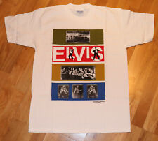 *1990's ELVIS PRESLEY* vintage king rock-n-roll t-shirt (L) MINT Concert tee