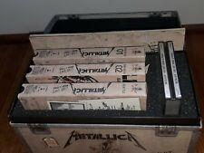 METALLICA Live Shit Binge & Purge BOX SET 3 VHS 3 CD Book snakepit pass METAL