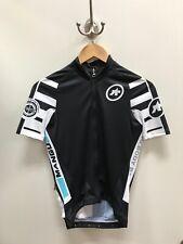 NEW Assos Mangussta_S7 Short Sleeve Jersey XS Black & White