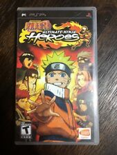 Naruto Ultimate Ninja Heroes- Psp ( Sony Playstation ) Complete W/box & Manual !