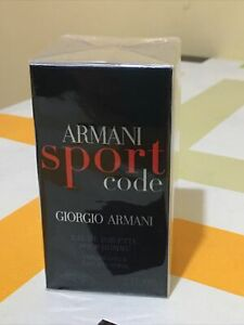 "ARMANI SPORT CODE diGiorgio Armani ""EDT30/spray 💯%Originale&AUTENTHIC Cellophan"