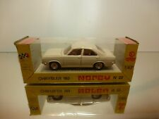NOREV 22 CHRYSLER 180 - OFF-WHITE 1:43 - GOOD CONDITION IN BOX