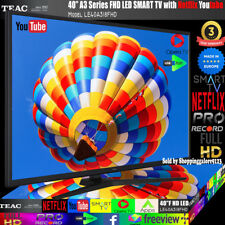 "TEAC 40"" Inch FHD SMART TV Netflix Youtube WIFI PVR APPS Opera  Made Europe 3Yr"