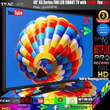 "TEAC 40"" Inch Full HD Smart TV - Black"