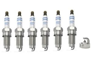 Spark Plugs x 6 Bosch Platinum Fits Porsche Cayenne 3.2 V6 Audi A3 TT VW Golf