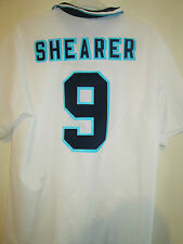 Shearer 9 England Euro 1996 Home Football Shirt Size Extra Large XL /39563