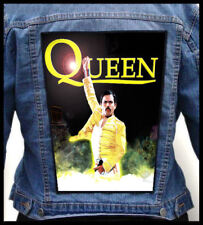 QUEEN - Freddie Mercury --- Giant Backpatch Back Patch