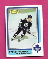 1986-87 OPC  # 245 LEAFS STEVE THOMAS  ROOKIE NRMT+  CARD  (INV# D6331)