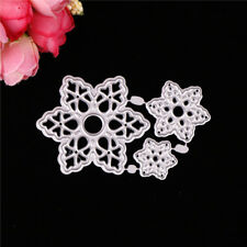 Snowflake Greeting Cards Cutting Dies Stencil Scrapbook Paper Cards Craft Gy