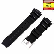 7a305a7bff27 Correa resina negra relojes 16mm Casio G-Shock G-5600 G-5700 G