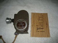 Vintage Bell & Howell FILMO Companion 8mm Movie Camera Instructions