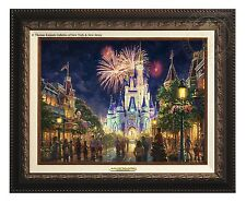 Thomas Kinkade Main Street, U.S.A.® Walt Disney World® Classic (Bronze Frame)