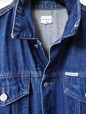 CALVIN KLEIN Jeans - Dark Fade Denim Trucker Jacket (XL) GENUINE CK ITEM
