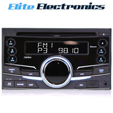 Clarion PX3973AA Double Din Audio Receiver w/ Bluetooth CD USB AUX