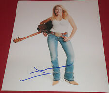 JEWEL KILCHER SIGNED COUNTRY POP BABE IN JEANS PHOTO AUTOGRAPH COA PIECES OF YOU