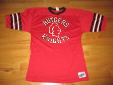 Vintage Bike Label - RUTGERS SCARLET KNIGHTS (LG) Football Jersey Shirt