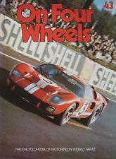 On Four Wheels magazine Issue 43 featuring Dan Gurney, Mike Hailwood