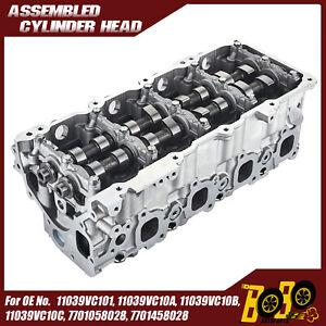 Complete Cylinder Head Fits Nissan Navara D22 and Patrol Y61 3.0L Diesel ZD30