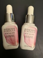 Lot Of 2 Physicians Formula Rose All Day Oil-Free Serum each weighs .37 fl oz