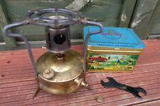 Old Vintage HIPOLITO NO.0 Paraffin Camping Stove Backpack Kerosene Cooker