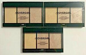 COVERGIRL Highlighter Trublend Super Stunner Palette #500 Fair/Lt Skin NEW [3]