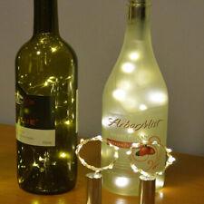 15 LED Bright White Light Wine Bottle Lamp for Wedding Party Xmas Deco ERD