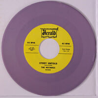 NUTMEGS: Story Untold / Make Me Lose My Mind 45 (repro, lavender wax)