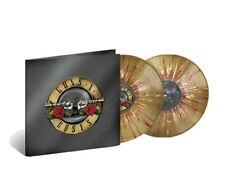 New Guns n Roses Greatest Hits On Gold White Red Splatter Vinyl!