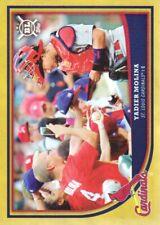 2018 Topps Big League Baseball Gold #254 Yadier Molina St. Louis Cardinals