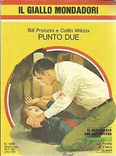 (Bill Pronzini Collin Wilcox) Punto due 1981 n.1695