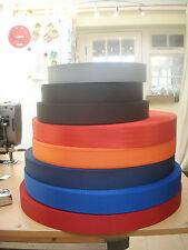 "1 3/4""/45mm ish Nylon Webbing/Strap - 1, 5 or 10 metre lengths - Various Colours"