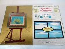 Vintage Recipe for Painting instructional art course kit Don Purdy Artis Inc.