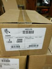 Zebra Thermal Transfer 10021198 4x6 Labels