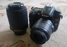 Nikon D7000 16.2 MP Digital SLR Camera Kit w/ AF-S DX 18-55mm & 55-200mm Lenses