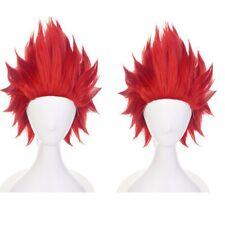 My Hero Academia Kirishima Eijiro Anime Synthetic Hair Short Cosplay Party Wig