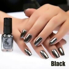 6ml Metallic Nail Polish Mirror Glitter Effect Chrome Varnish Manicure Nail Art