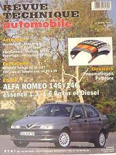 Revue technique automobile RTA ALFA ROMEO 145 146  essence et Diesel